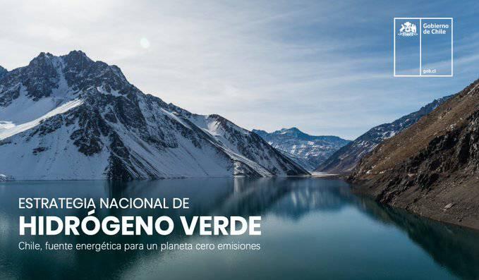 Chile lanza fondo de 300 millones de dólares para impulsar el hidrógeno