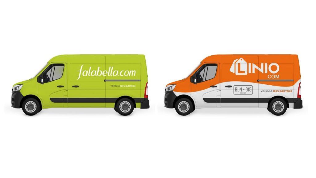 Falabella y Linio incorporarán una flota de vehículos eléctricos