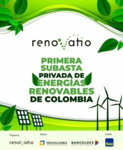 primera subasta privada de energía renovable
